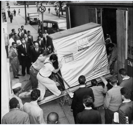 Data Migration - 5 MB IBM Hard Drive - 1956