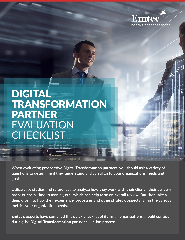 Partner Evaluation Checklist